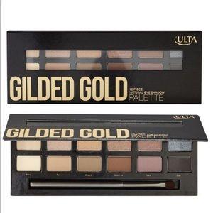 Ulta Beauty Gilded Gold eyeshadow palette